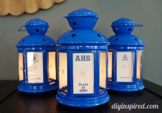 Easy High School Class Reunion Centerpieces