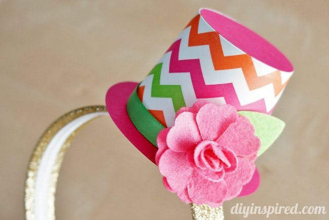 Party Top Hat Headband DIY