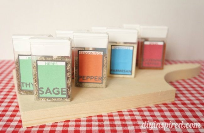 Tic Tac Pack Spice Containers Printable