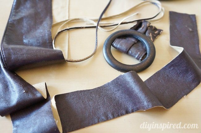 DIY Steampunk Goggles Repurposed Belt