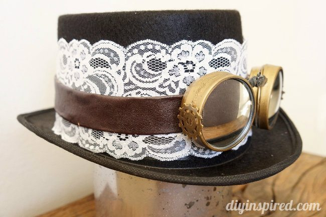 DIY Steampunk Top Hat and Goggles Tutorial