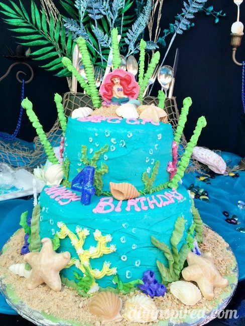 Little Mermaid Cake Idea