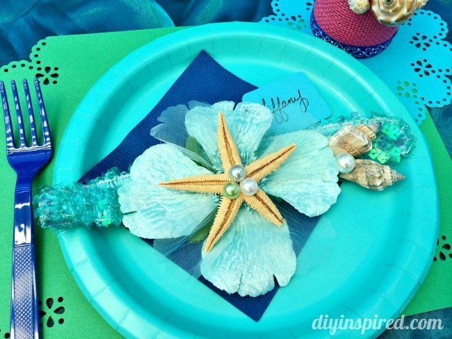 Little Mermaid DIY Headbands Party Favor