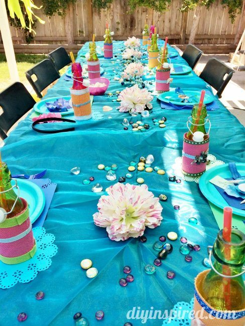Little Mermaid Table