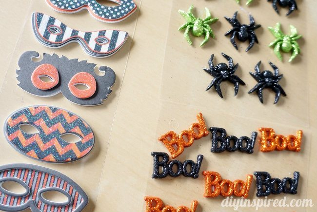 No Sew Halloween Treat Bag Embellishments