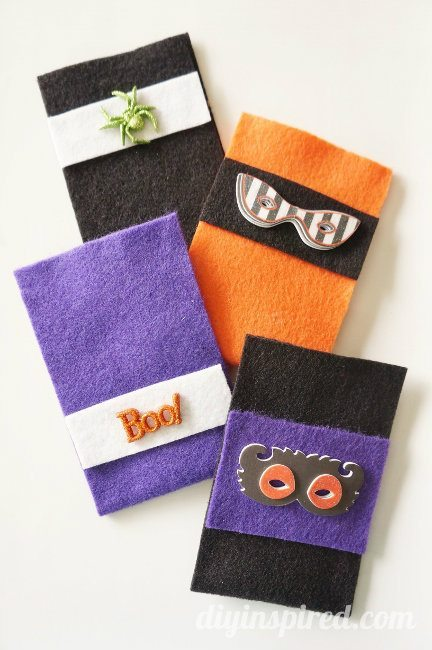 No Sew Halloween Treat Bags DIY