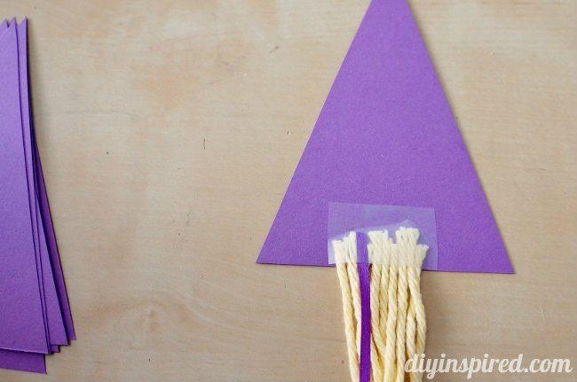 Rapunzel Invitation DIY Tower