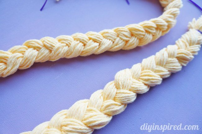 Rapunzel Monogram Braided Hair