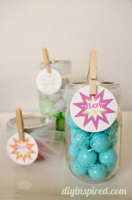 Mason Jar Gift Idea with FREE Printable