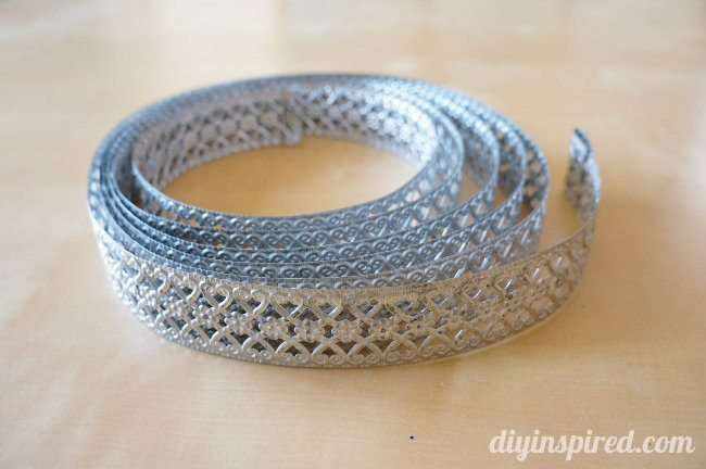 Metal Ribbon for Crafts