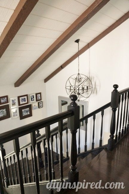Our Black Staircase Makeover (1)