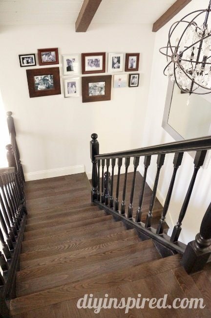 Our Hardwood Staircase Makeover (2)