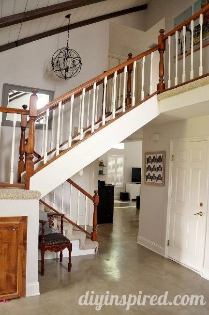 Our Staircase Makeover Before And After Diy Inspired