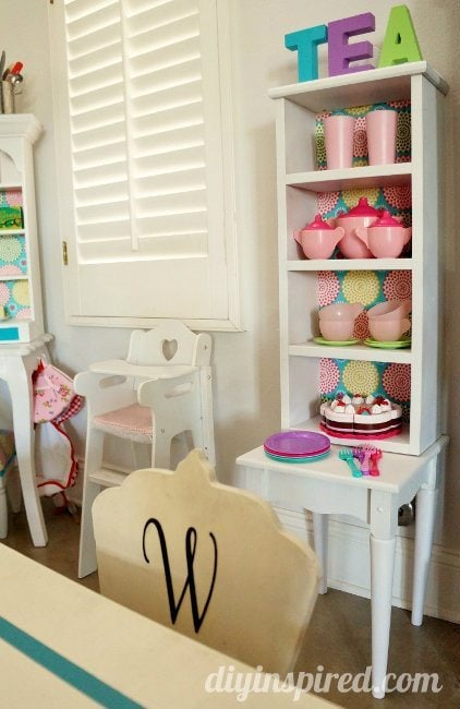 Play Kitchen Hutch DIY