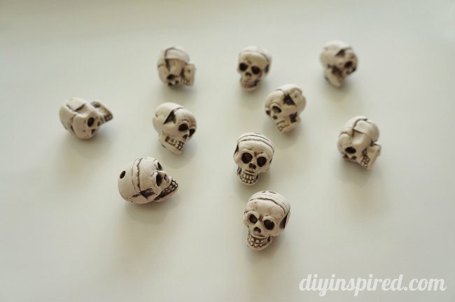 Skull Wine Charms How To