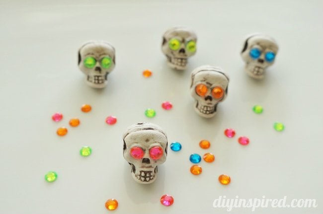 Skull Wine Charms