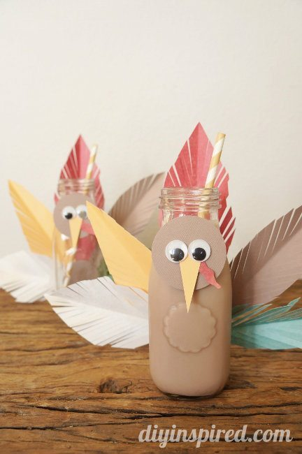 Upcycle Milk Bottle Turkey