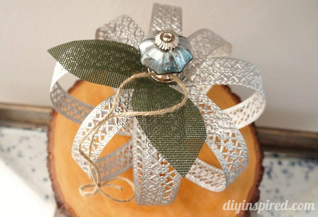 Upcycled Metal Pumpkin Tutorial