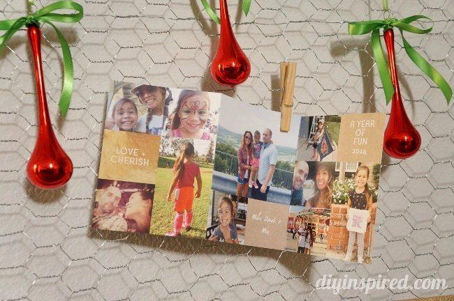 DIY Christmas Card Display (6)