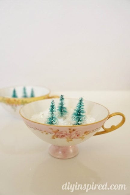 Tea Cup Christmas Decor (1)