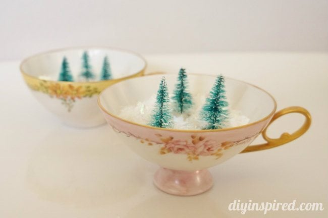 Tea Cup Christmas Decor (3)
