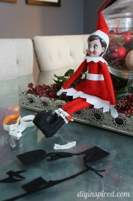 DIY Elf on the Shelf Boots