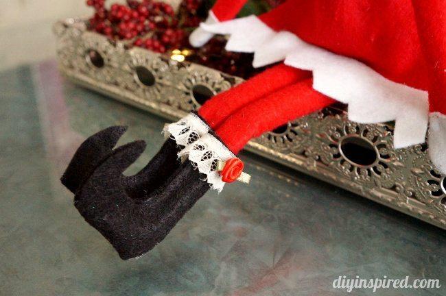 DIY Elf on the Shelf Shoes