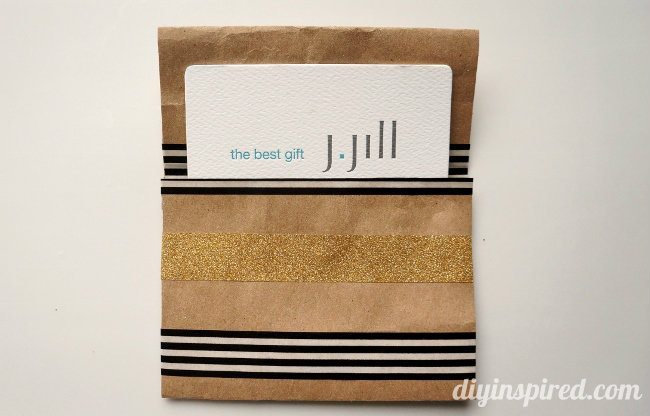 DIY Repurposed Gift Card Holder