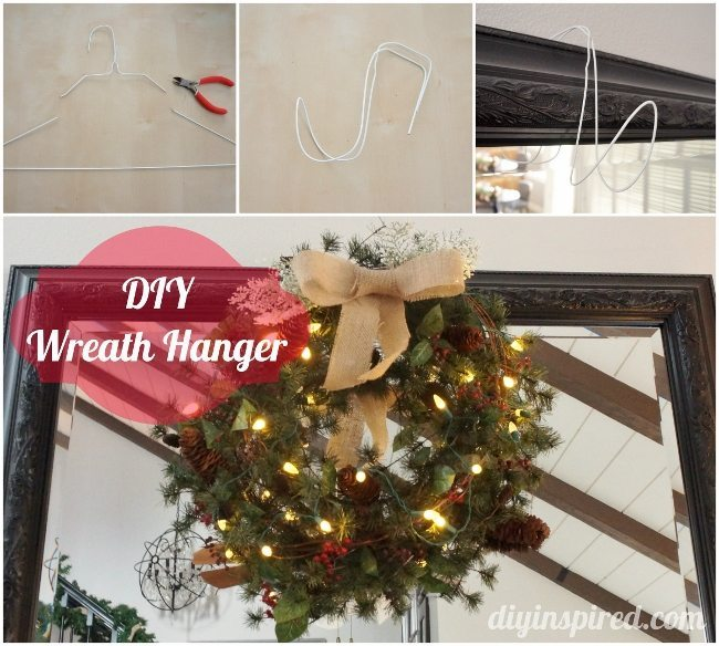 DIY Wreath Hanger Tutorial