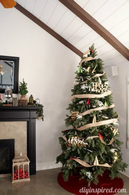 Decorate your Christmas Tress for a New Year's Party