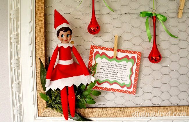 Elf On The Shelf Bad Day Poem With Printable Diy Inspired
