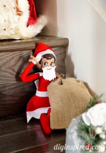Elf on the Shelf Day 6a