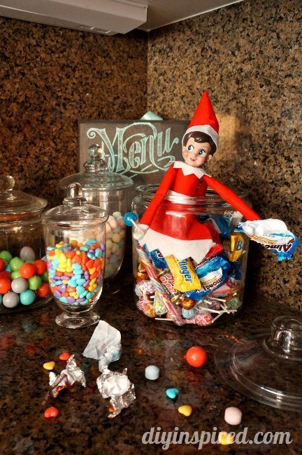 Elf on the Shelf Day 8