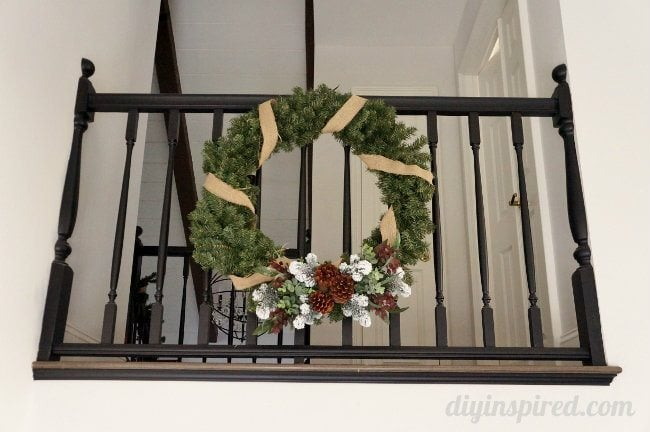 Entryway Christmas Wreath