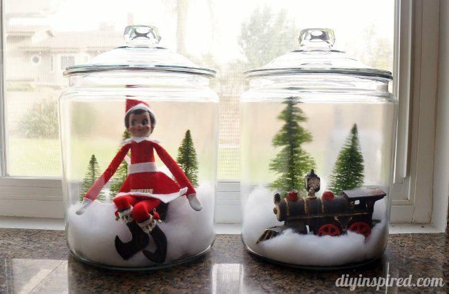 Last Minute Elf on the Shelf Ideas Day 15 Elf in a Jar (1)