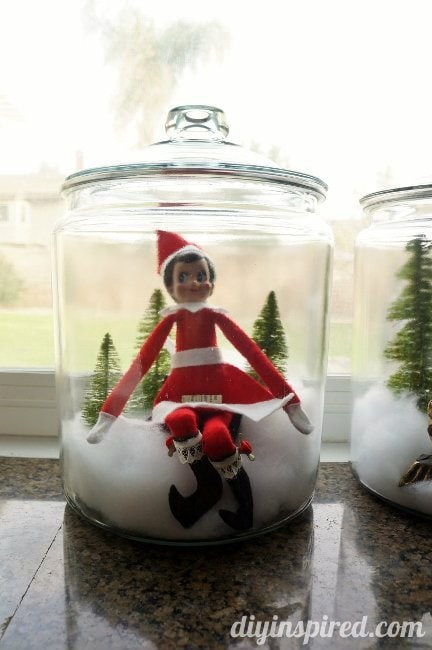Last Minute Elf on the Shelf Ideas Day 15 Elf in a Jar (2)
