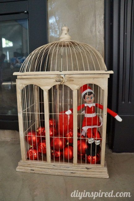 Last Minute Elf on the Shelf Ideas Day 19