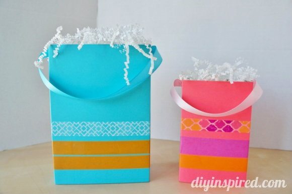 Recycled-food-box-for-gift-bags