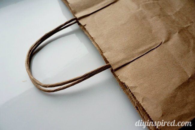 Repurposed Brown Paper Bag Idea