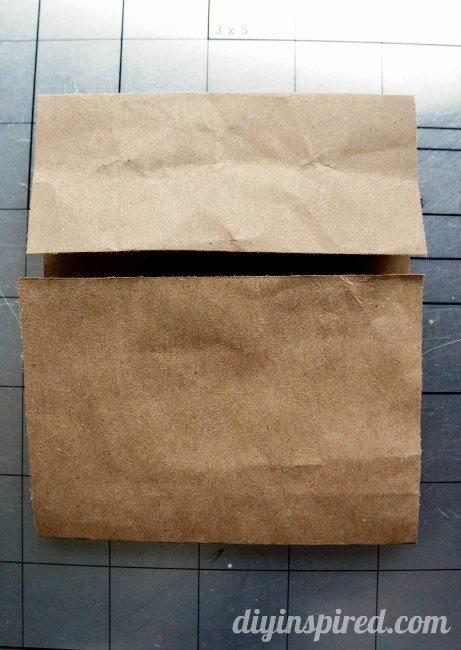 Repurposed Brown Paper Bag