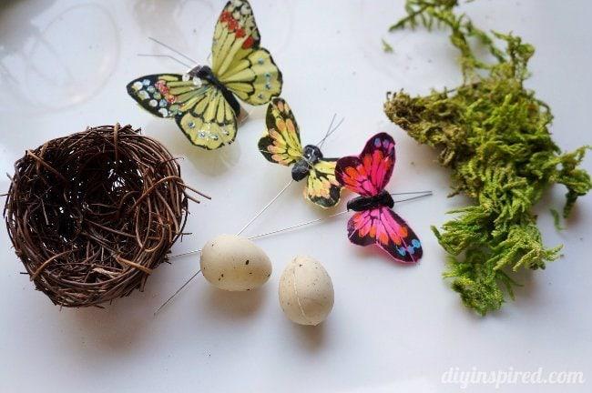 Winter Woodland Ornament Materials