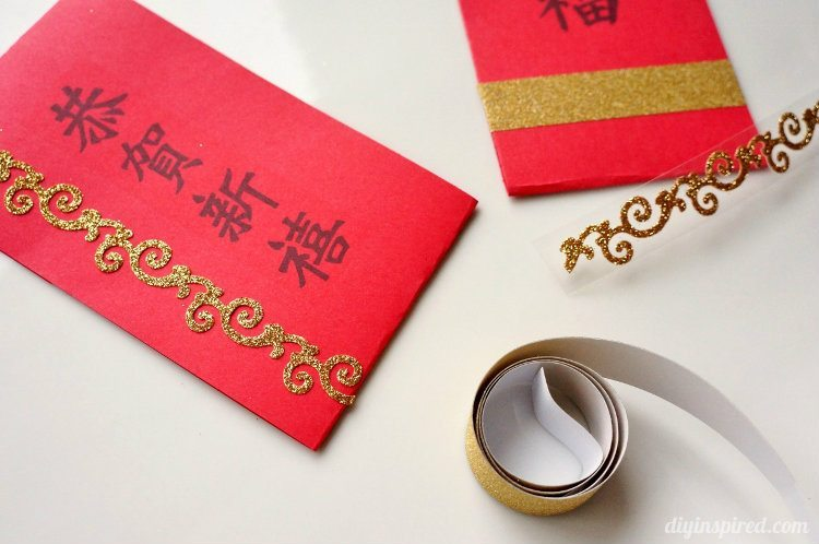 Easy Chinese New Year Red Envelopes Tutorial