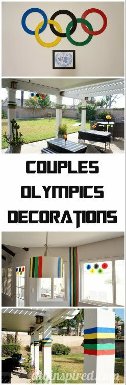 Couples Olympics Decorations