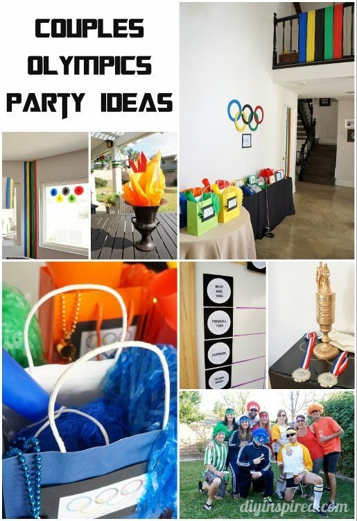 Couples Olympics Party Ideas