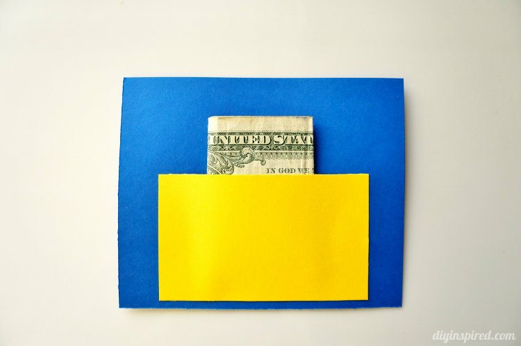 DIY Superhero Money Envelope with Cape