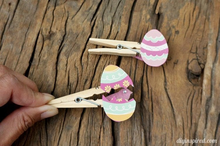 Easter Egg Clothespin Craft for Kids