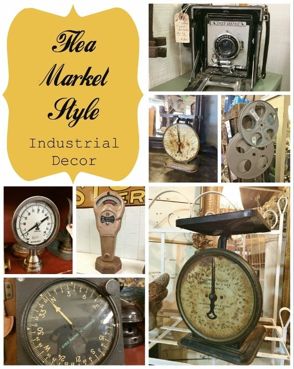 Flea Market Style Industrial Decor
