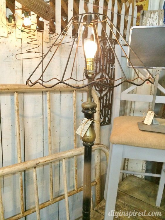 Repurposed Lighting Floor Lamp