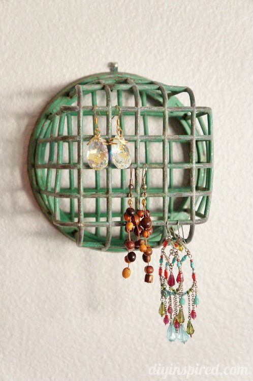 Repurposing Ideas -Jewelry Holder