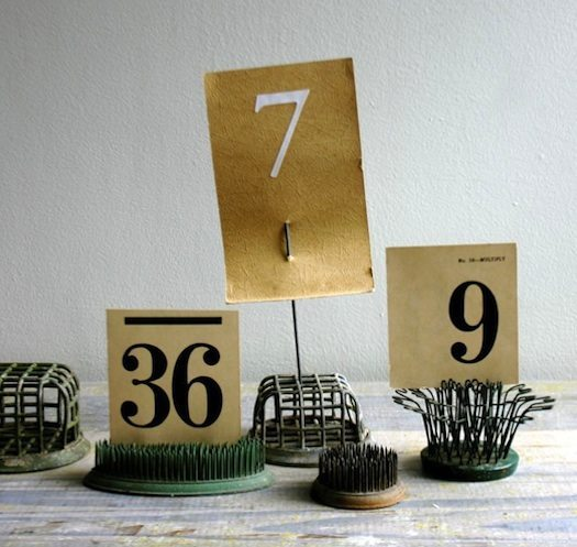 flower-frog-wedding-table-numbers